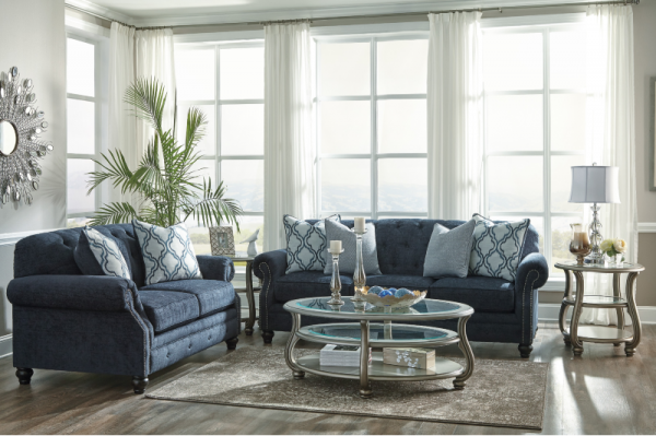 Lavernia -Navy- 71304 5PC Living Room Collection