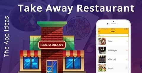 Take Away App | Restaurant App | Food Ordering App