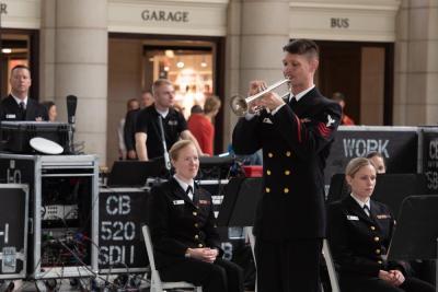 US Navy Band in Washington DC
