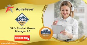 SAFe Product Owner Manager 5.0 | Agile Fever | Product owner | Training | Product Manager