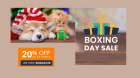 BOXING DAY SALE 40% OFF + Extra 20% OFF On all Order