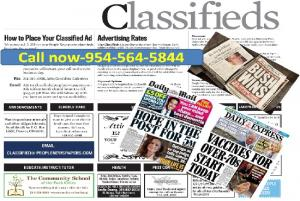 Advertise in 20 Major Newspapers