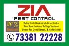 Kammanahalli | Zia Pest Control | 25% Discount on  Residence | 1750 |