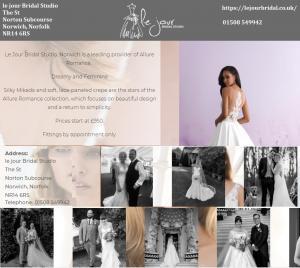 Best wedding bridal gown supplier in Norwich