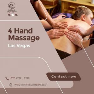 Professional 4 hand massage services