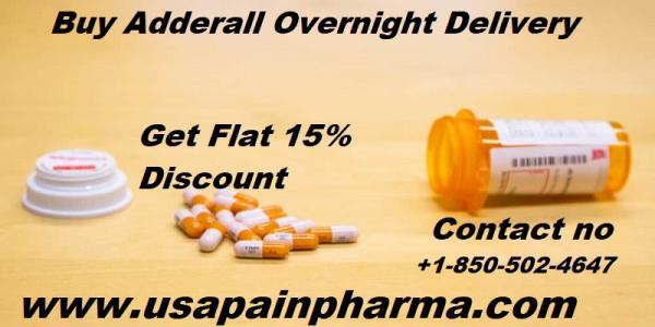Buy Adderall 15mg  Overnight Delivery - USA Pain Pharma
