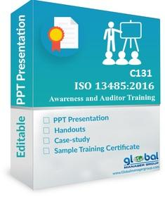 ISO 13485 INTERNAL AUDITOR TRAINING PPT PRESENTATION KIT