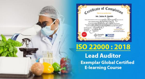 Online ISO 22000 Lead Auditor Training Course