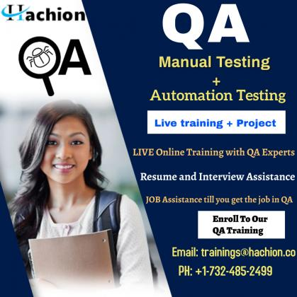 QA Online Live Trainng