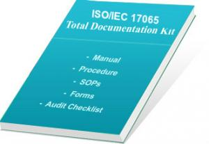 Product Certifying Body Accreditation ISO 17065 Document