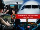 COMMERCIAL PILOT LICENSE TIME BUILDING