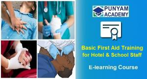 Basic First Aid Training for Hotel and School Staff