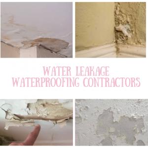 Water Seepage Waterproofing Services